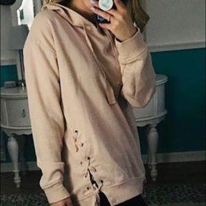 Garage pink sweatshirt size M